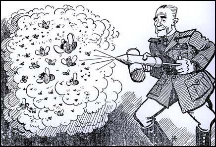 Cartoon of General Wavell that appeared in Egypt in 1941