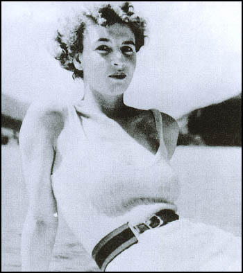 Muriel Wright at Monte Carlo in August 1939