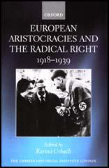 European Aristocracies and the Radical Right, 1918-1939