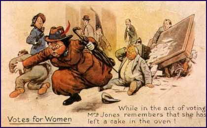 Anti-Suffrage Postcard (1908)
