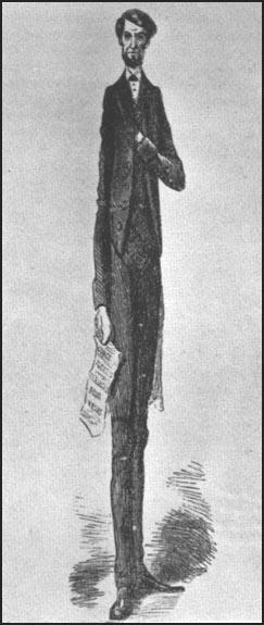 Frank Bellew, Long Abraham a Little Longer, Harper's Weekly (26th November, 1864)