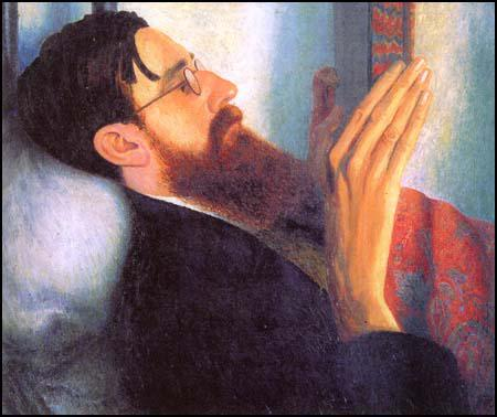 Dora Carrington, Lytton Strachey (1916)