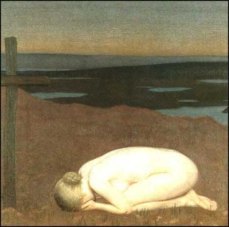 George Clausen, Youth Mourning (1916)