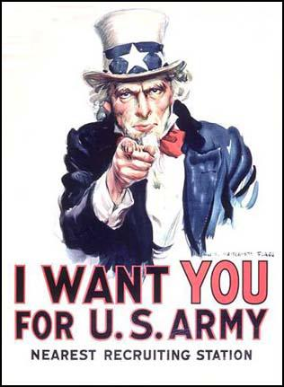 I Want You for the U.S. Army (1917)