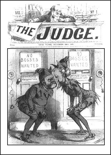 Puck Magazine (29th October, 1881)