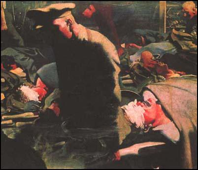 Eric Kennington, Gassed and Wounded (1917)