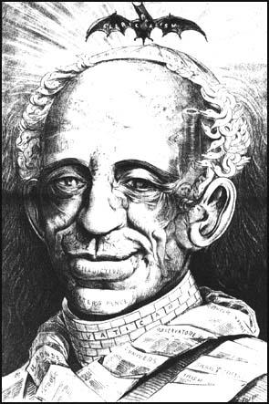 Joseph Keppler, Leo XIII Puck, (24th April, 1878)