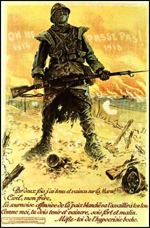 Maurice Neumont,They Shall Not Pass, French poster