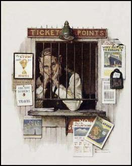 Norman Rockwell, Saturday Evening Post (24th April, 1937)
