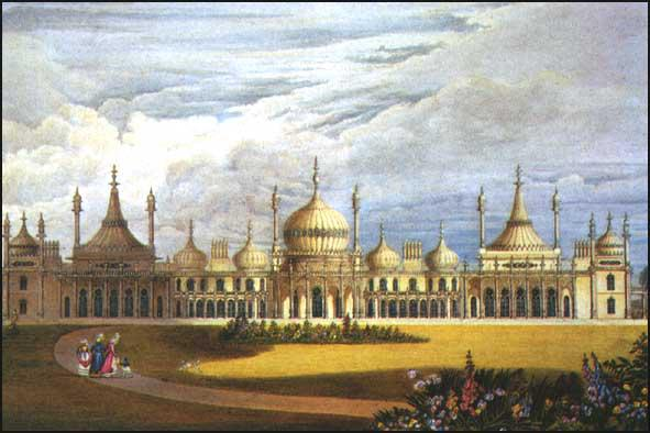 John Nash, Views of the Royal Pavilion (1826)