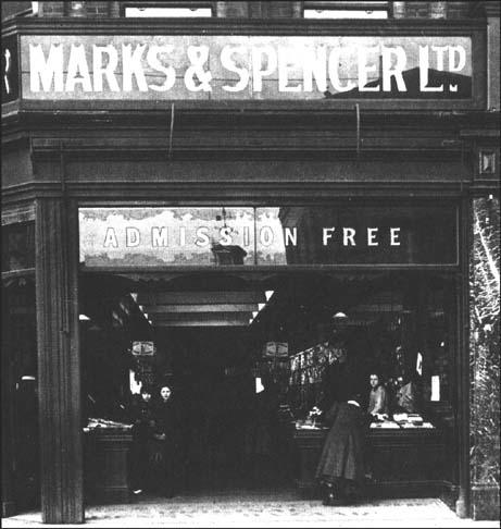 Marks & Spencer at Croydon in 1906