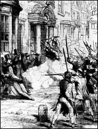 The Chartist attack on the Westgate Hotel