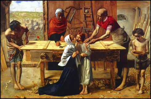 John Everett Millais, Christ in the House of His Parents (1850)
