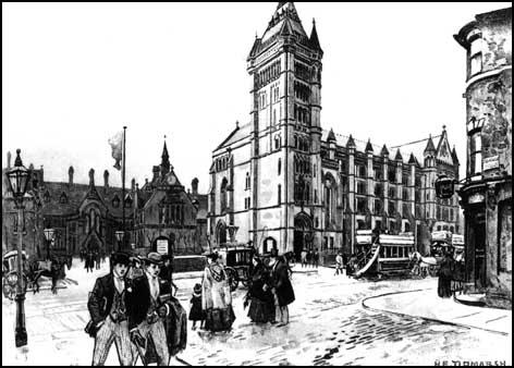 Owens College in Oxford Street, Manchester