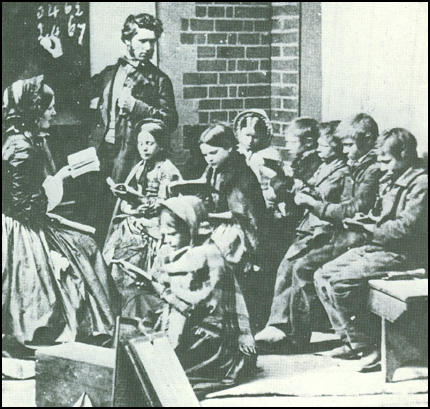 A Ragged School in 1865