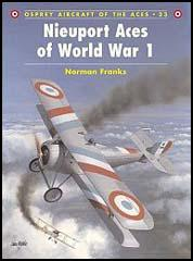 Nieuport Aces of World War One