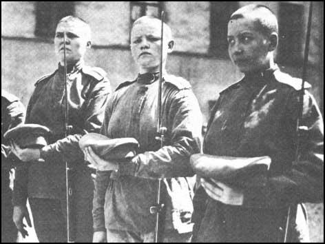 Members of the Women's Death Battalion