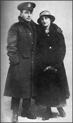 Drusilla Bowcott with her brother. He waskilled a month after this picture was taken.