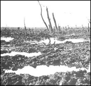 No Man's Land at Passchendaele in 1917