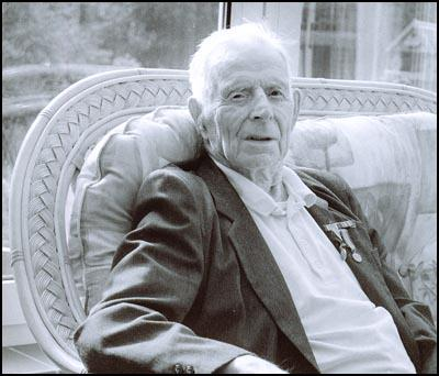 Harry Patch in retirement