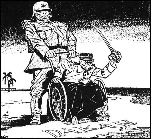 Saving France - for GermanyPhilip Zec, The Daily Mirror (11th October, 1940)