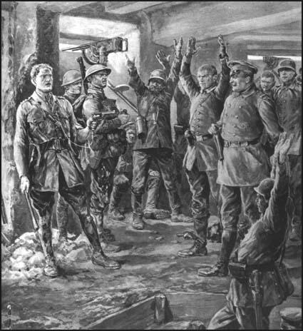 Richard Caton Woodville, Capture of a German Blockhouse (1917)
