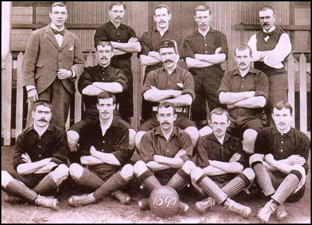 The Arsenal team at the start of the 1895-96 season