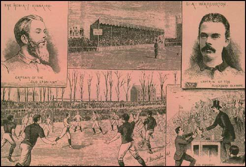 Blackburn Olympic defeating Old Etonians 2-1 in the 1883 FA Cup Final.