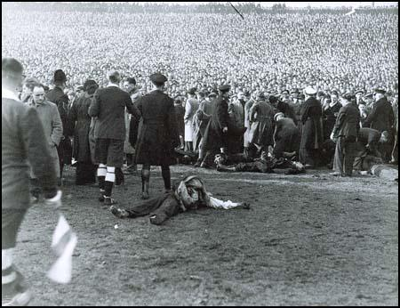 The Burnden Park disaster on 9th March 1946