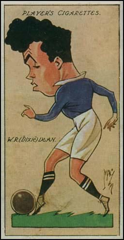 Dixie Dean Cigarette Card (1927)