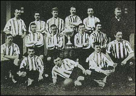 Sunderland team in 1891-92