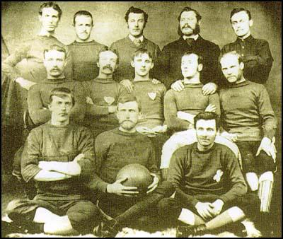 Sunderland team in 1884
