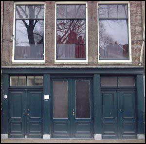 Anne Frank House: Tragic hiding place of World War II ... |Anne Franks Hiding Place Diagram