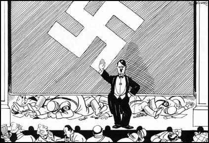 Image result for STAR OF DAVID AS NAZI SIMPLE CARTOON