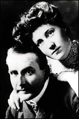 Frank Wedekind and Tilly Newes