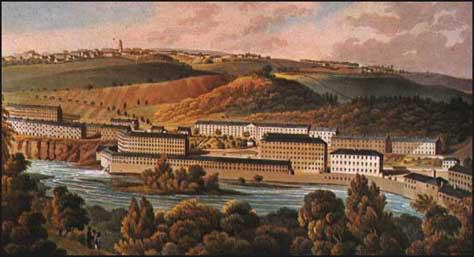 New Lanark Cotton Mills