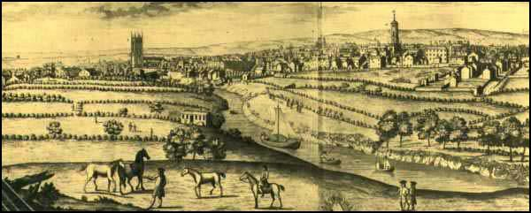 Manchester in 1750