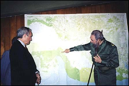 Alfredo Duran and Fidel Castro in 2001