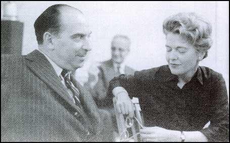 Michael Josselson with his wife Diana Josselson