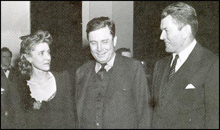 Clare Boothe Luce, Wendell Willkie and Gene Tunney in 1940.