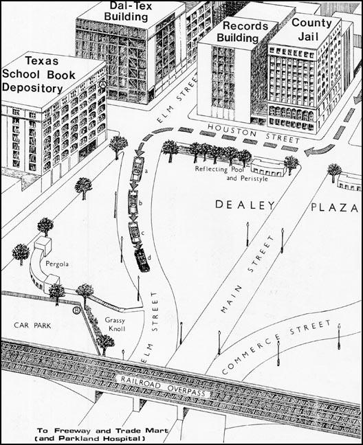 Dealey Plaza Drawing
