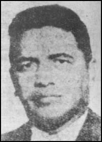 This photograph, taken of David Morales in 1959, appeared in a Cuban newspaper in 1978.