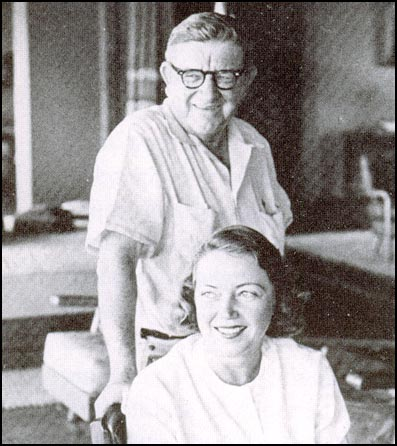Clint Murchison and his wife Virginia in 1954