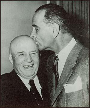 Sam Rayburn and Lyndon B. Johnson