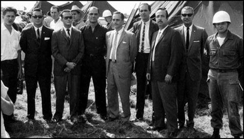 Bernardo De Torres is fourth from the right (Miami, September, 1963)