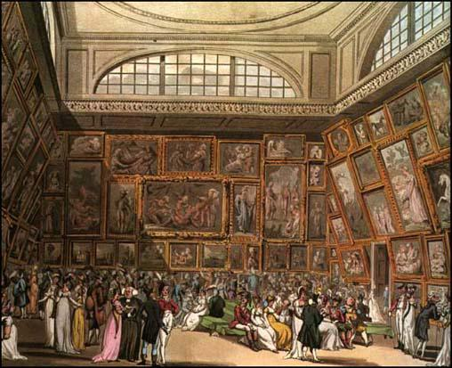Royal academy for Le salon in french