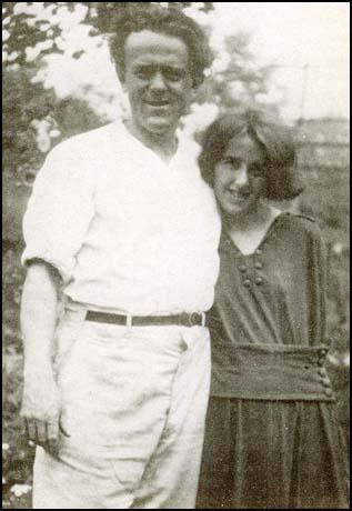 John Reed with Louise Bryant in November, 1916