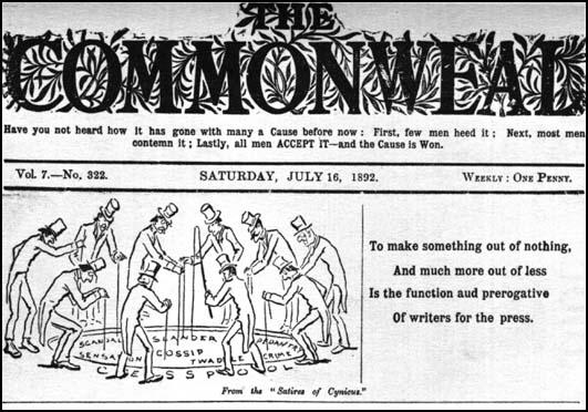 The Commonweal (16th July, 1892)