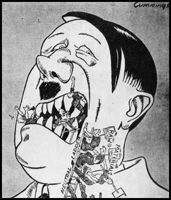 """But we thought if we gave you teeth you'd never chew us up.""Michael Cummings, Daily Chronicle (17th April 1940)"