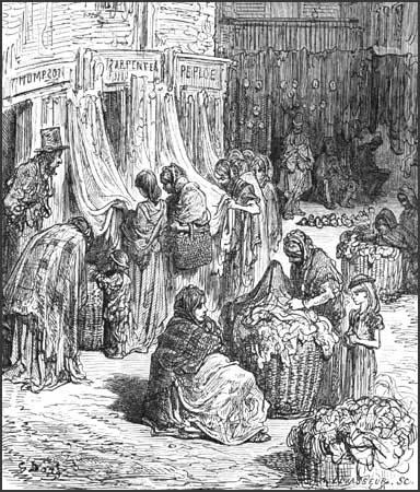 Gustav Dore, Buying Fifth-Hand (1872)